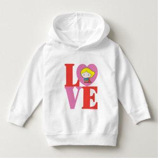 Chibi Supergirl LOVE Hoodie