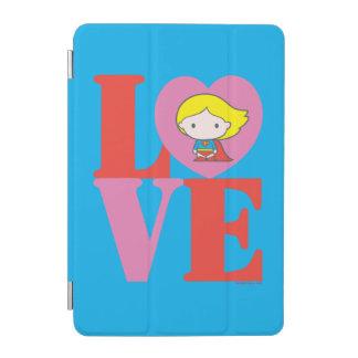 Chibi Supergirl LOVE iPad Mini Cover