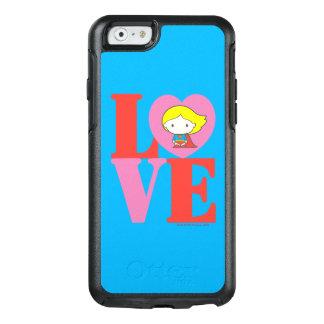 Chibi Supergirl LOVE OtterBox iPhone 6/6s Case
