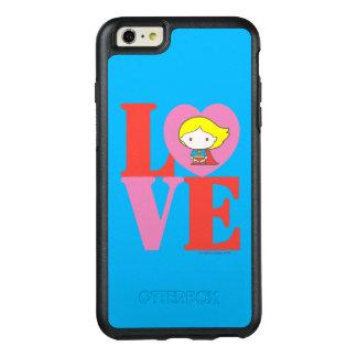 Chibi Supergirl LOVE OtterBox iPhone 6/6s Plus Case