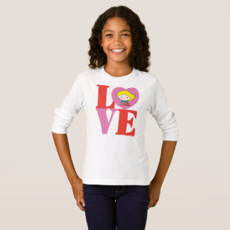 Chibi Supergirl LOVE T-Shirt