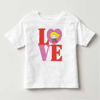 Chibi Supergirl LOVE Toddler T-Shirt