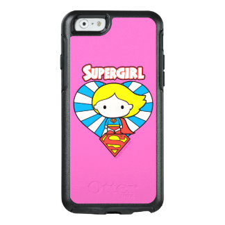 Chibi Supergirl Starburst Heart and Logo OtterBox iPhone 6/6s Case