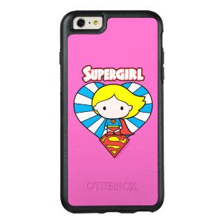 Chibi Supergirl Starburst Heart and Logo OtterBox iPhone 6/6s Plus Case