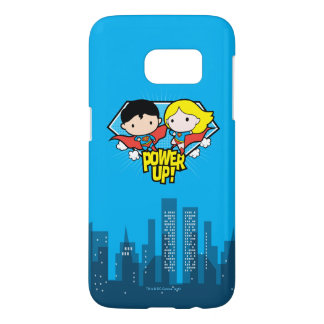 Chibi Superman & Chibi Supergirl Power Up!
