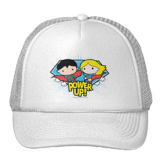 Chibi Superman & Chibi Supergirl Power Up! Cap