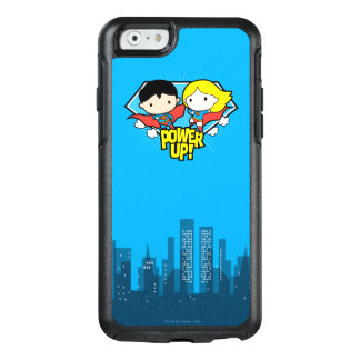 Chibi Superman & Chibi Supergirl Power Up! OtterBox iPhone 6/6s Case