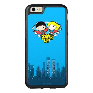 Chibi Superman & Chibi Supergirl Power Up! OtterBox iPhone 6/6s Plus Case