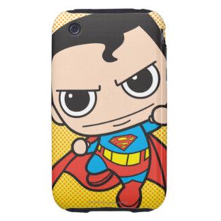 Chibi Superman Flying iPhone 3 Tough Cases