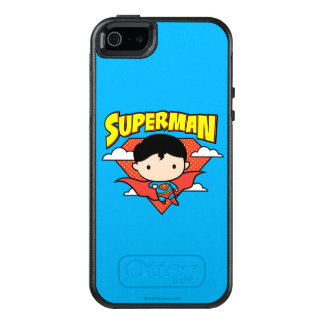 Chibi Superman Polka Dot Shield and Name OtterBox iPhone 5/5s/SE Case