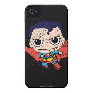Chibi Superman Sketch iPhone 4 Case-Mate Case
