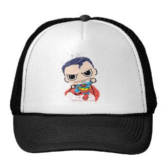 Chibi Superman Sketch - Flying Cap