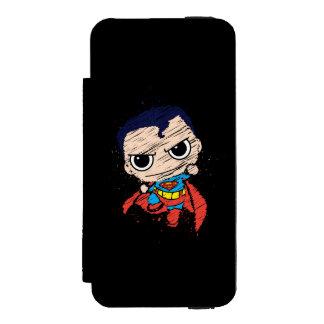 Chibi Superman Sketch - Flying Incipio Watson™ iPhone 5 Wallet Case