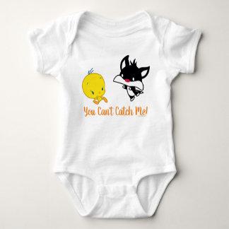Chibi SYLVESTER™ Chasing TWEETY™ Baby Bodysuit