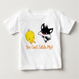 Chibi SYLVESTER™ Chasing TWEETY™ Baby T-Shirt