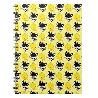 Chibi SYLVESTER™ Chasing TWEETY™ Notebook