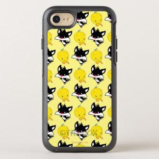 Chibi SYLVESTER™ Chasing TWEETY™ OtterBox Symmetry iPhone 8/7 Case
