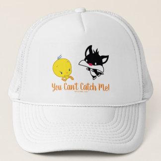 Chibi SYLVESTER™ Chasing TWEETY™ Trucker Hat
