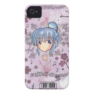 Chibi Ume w/collage Blackberry Bold iPhone 4 Case