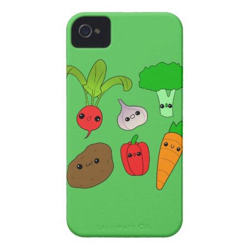 Chibi Vegetables iPhone 4 Case