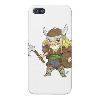 Chibi Viking (Distressed) iPhone 5 Cover