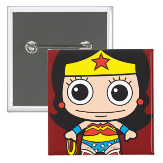 Chibi Wonder Woman Buttons
