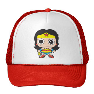 Chibi Wonder Woman Cap