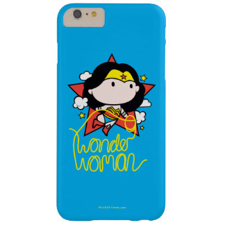Chibi Wonder Woman Flying With Lasso Barely There iPhone 6 Plus Case