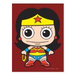 Chibi Wonder Woman Postcard