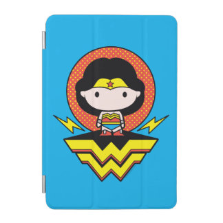 Chibi Wonder Woman With Polka Dots and Logo iPad Mini Cover