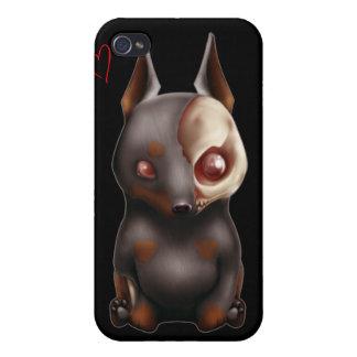 Chibi Zombie Dog Case iPhone 4 Cases