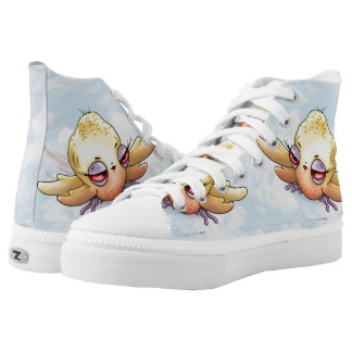 CHIBITTEE MONSTER SHOES High Top Shoes Printed Shoes