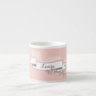 Chic and Elegant Custom Name Mug Espresso Mug
