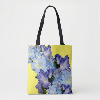 Chic and Pretty Spring Floral Tote Bag for Her