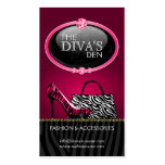 Chic and Sassy Fashion Business Cards