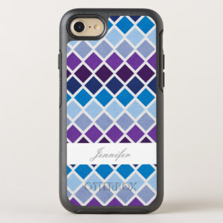 Chic Argyle With Name Case