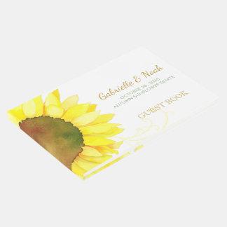 Chic Backyard Sunflower Wedding