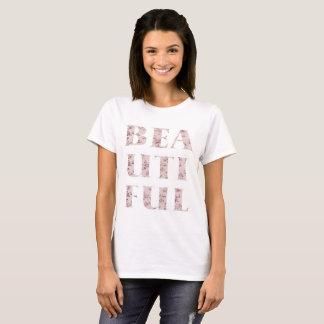 Chic Beautiful Typography T-Shirt