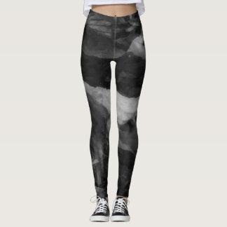 Chic black grey Leggings