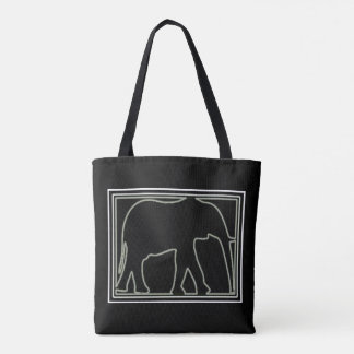 CHIC BLACK TOTE BAG