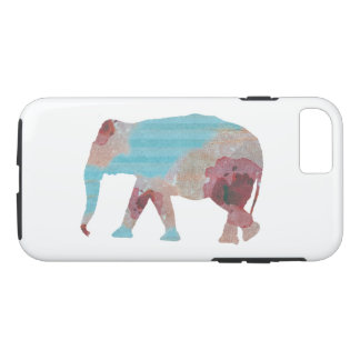 Chic Bohemian Stripes & Floral Elephant iPhone 8/7 Case