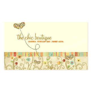 Chic Boutique Business Cards