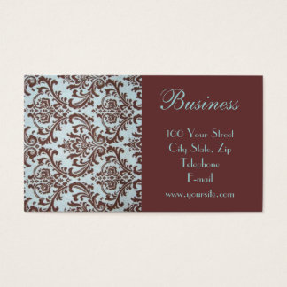 Chic Boutique Fabric Business Card 3
