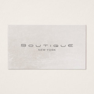 Off white business cards business card printing zazzle chic boutique faux off white pearl shimmer business card colourmoves