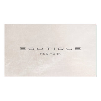 Chic Boutique Faux Off White Pearl Shimmer Pack Of Standard Business Cards