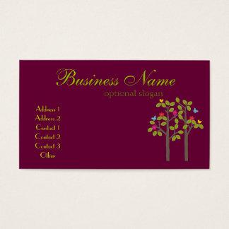 Chic Boutique Plum Business Card