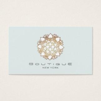 Chic Boutique White Lotus Flower Light Blue