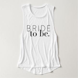 Chic Bride To Be | Wedding Party | Bride Singlet