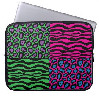 Chic Brights Animal Print Laptop Sleeve