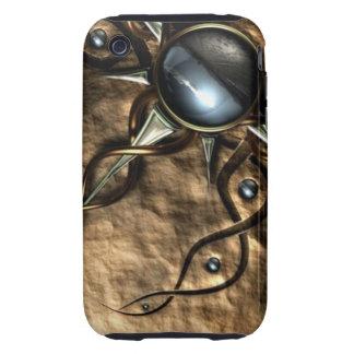 Chic Bronze Tough iPhone 3 Cases